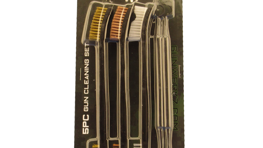 5 piece brush and pick set in retail package